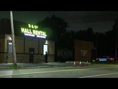 5 people shot at rental hall on Detroit's east side