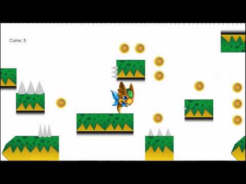 2d Platform Game build with Construct 2