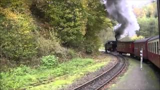 preview picture of video 'Selketalbahn, van Alexisbad naar Quedlinburg'