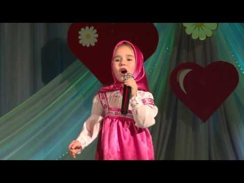 Катя Ковалева 6 лет Песня про варенье из м/ф МАША И МЕДВЕДЬ