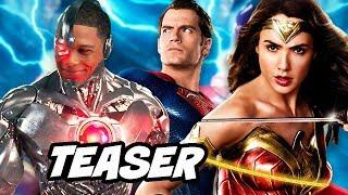 Justice League Cyborg Teaser - New Teen Titans Doom Patrol Character Breakdown