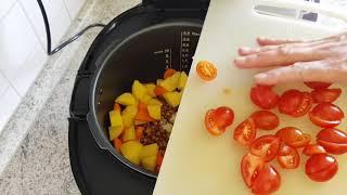 Kochen mit dem Autocook Pro** (16): Linseneintopf