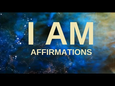 "Affirmations For Health, Wealth, Happiness, Abundance ""I AM"" (21 Days To A New You!)"