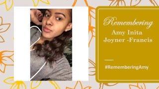 Amy Inita Joyner - Francis: #RIPAMY