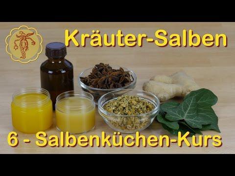 Salbenküchen-Kurs 6: Kräuter-Salben