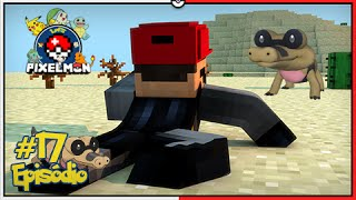 Sandile  - (Pokémon) - Minecraft A Lenda dos Campeões #17: Finalmente Sandile, Quase Morri no Deserto [Pixelmon]