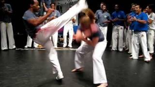 Grupo Uniao na Capoeira batizado Oslo 2008