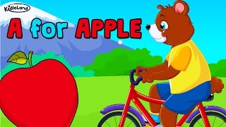 A for Apple B for Ball C for Cat D for Dog | Learn Phonics | KidloLand