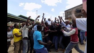 Protesters boo as Waiguru criticises MCA - VIDEO