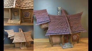 cardboard house diy - TH-Clip