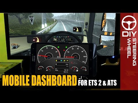 How to View Your Gauges On Your Phone - ETS2/ATS - смотреть онлайн