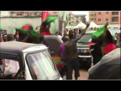 IPOB Members Block Obiano's Convoy & THIS Happened