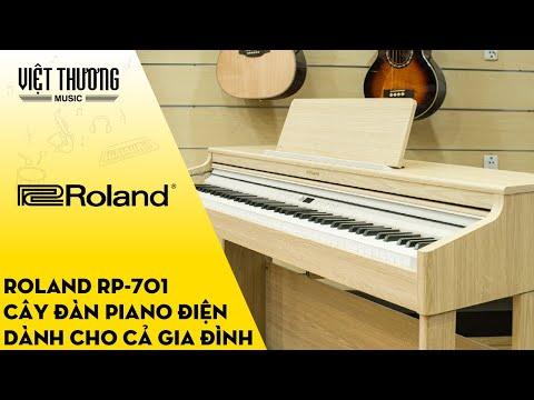 Review đàn piano điện Roland RP-701 - Cây đàn dành cho cả gia đình