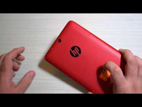 HP Slate 7 HD: unboxing e primo avvio
