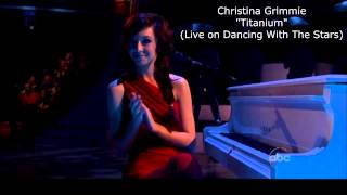 """Titanium"" by Christina Grimmie (Live on Dancing With the Stars)"