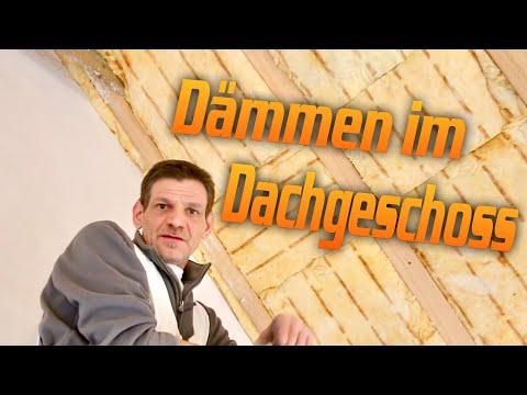 Richtig Dämmen im Dachgeschoß / Trockenbau  /Roofing/Insulation. / Hobein