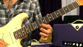 How To Play - Lights By Journey - Guitar Lesson