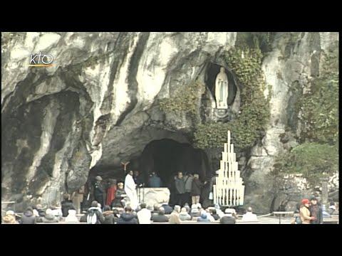 Chapelet à Lourdes du 21 novembre 2019