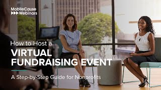 How to Host a Virtual Fundraising Event - A Step-by-Step Guide for Nonprofits