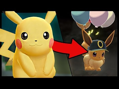 What Happens if you SWITCH Save Files in Pokemon Lets Go Pikachu And Eevee?