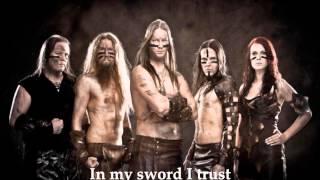Ensiferum - In My Sword I Trust (Lyrics)