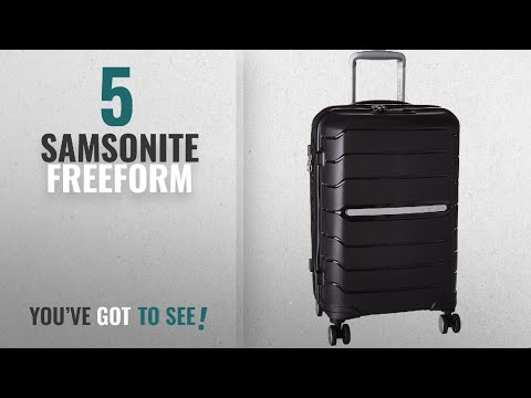 Top 10 Samsonite Freeform [2018]: Samsonite Freeform Hardside Spinner 21, Black
