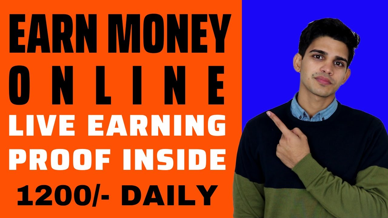 Make Money Online For Trainees in India - Make online cash or earnings with Live Evidence [Hindi] thumbnail