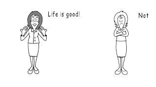 Life is good. Or not. VideoScribe