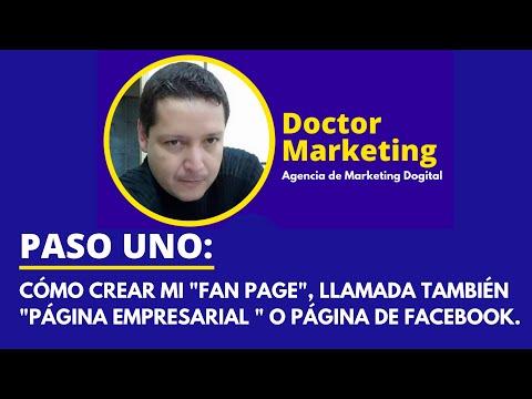 , title : 'COMO CREAR LA FAN PAGE O LA PAGINA DE FACEBOOK'