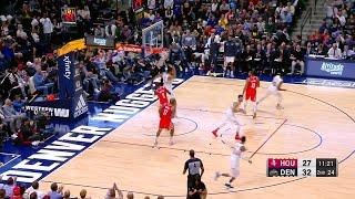 2nd Quarter, One Box Video: Denver Nuggets vs. Houston Rockets