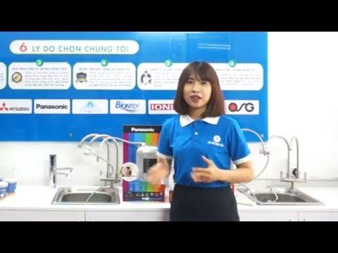 Hướng dẫn sử dụng máy điện giải ion kiềm Panasonic TK-AS45 | Thế Giới Điện Giải