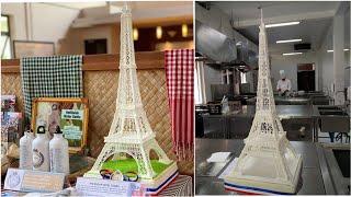 Eiffel Tower Cake Topper - KBIT013