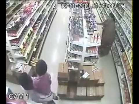 Robbery in a Super Market