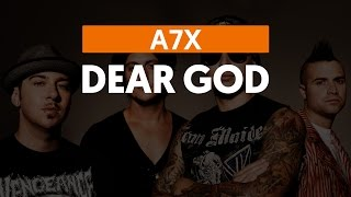 Dear God - Avenged Sevenfold (aula de violão)