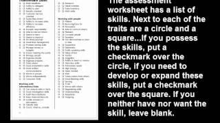 1000 Resumes - One Job - Video 6: Transferable Skills