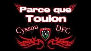 Pilou Pilou Parce Que Toulon Rouge Et Noir By Cyssou DFC Sud6tm