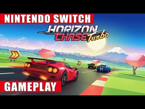 Horizon Chase Turbo Nintendo Switch Gameplay