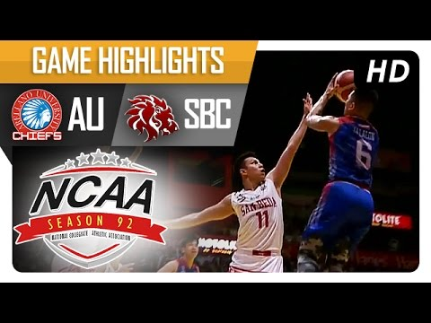 SBC vs AU | Game Highlights | NCAA 92 - September 23, 2016