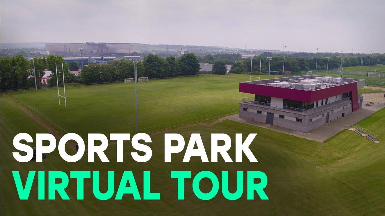 Sports Park drone tour