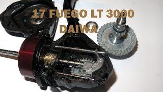 Катушка безынерционная daiwa 17 fuego lt 4000d-c