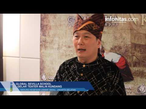 Global Sevilla School Gelar Teater Malin Kundang