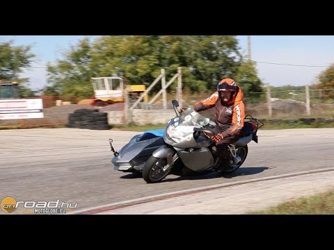 BMW K1200S Swenker: leanable sidecar motorcycle test – Onroad.bike
