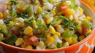 AMERICAN CORN SALAD | Healthy Tasty American Corn Salad | The Best Corn Salad