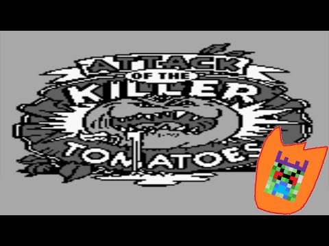 Let's Play Attack Of The Killer Tomatoes (Game Boy)