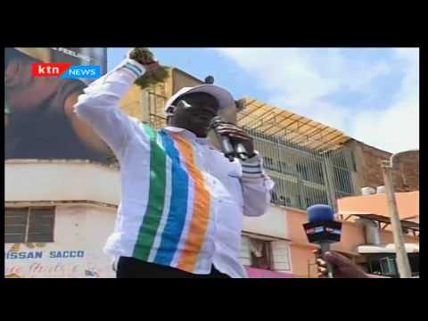 NASA took its campaigns to President Uhuru Kenyatta's backyard