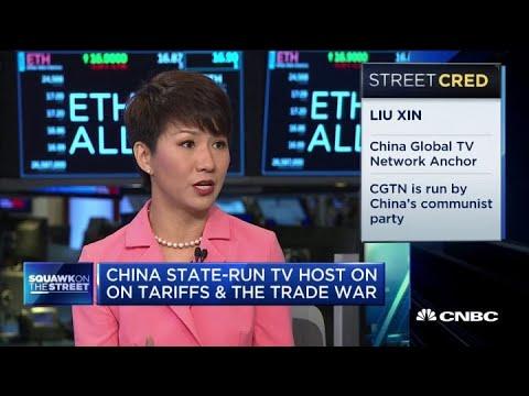 1:3,刘欣这次赢得称赞,三个来自CNBC的新闻人让大家吐槽|YouTube ...