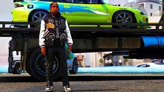 GTA 5 REAL LIFE TRAVIS SCOTT LIFE DAY #1