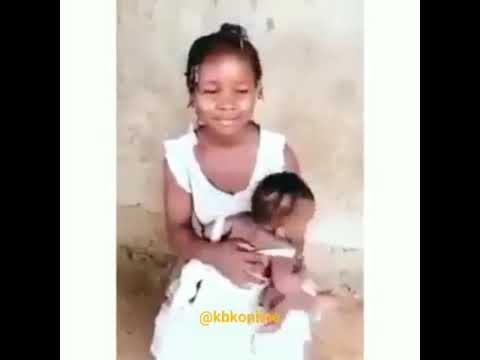 WATCH THE 15 YEARS OLD GIRL BREASTFEEDING HER CHILD, SHE WAS IMPREGNATED MY HER STEP F. WHAT A WORLD