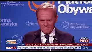 TVP Info przerobiło wypowiedzi Tuska. Szczyt manipulacji – nowy dżingiel TVP