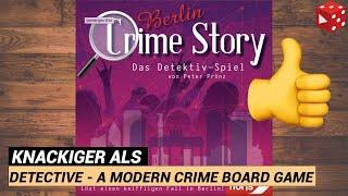 Crime Story: Berlin (Peter Prinz, Noris 2020) - Tolle, runde, kurzweilige Krimi-Spiel-Reihe
